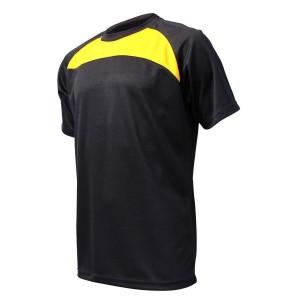 Training T-Shirt: Black & Gold
